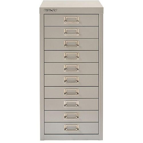 Bisley SoHo Multidrawers 5-Drawers 51mm Drawer Height Silver
