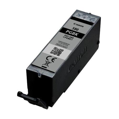 Canon PGI-580BK 11.2ml High Yield 200 Pages Black Ink Cartridge Ref 2078C001