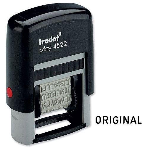 Trodat Printy 4822 Stamp 12 words 4mm print