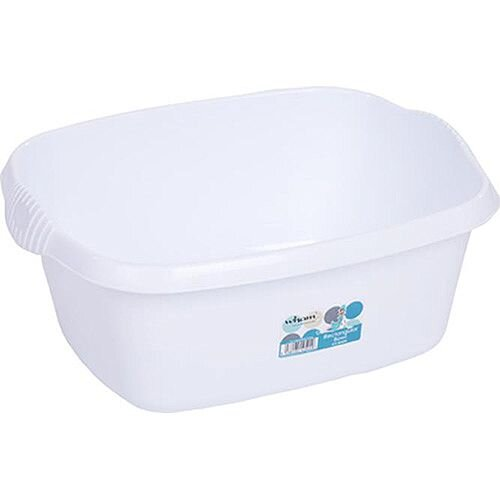 Whatmore Washing Up Bowl Rectangular White