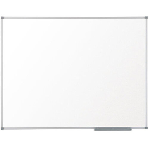 Nobo Prestige Enamel Whiteboard Magnetic Fixings Included W2400xH1200mm White Ref 1905225