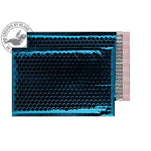 Purely Packaging Envelope P& 250x180mm Padded Met Blue Ref MBBLU250 [Pack 100]