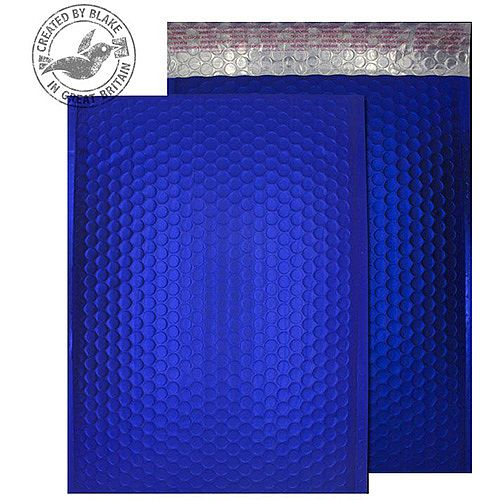 Purely Packaging Bubble Envelope P& C4 Metallic NeonBlue Ref MTNB324 [Pk 100]
