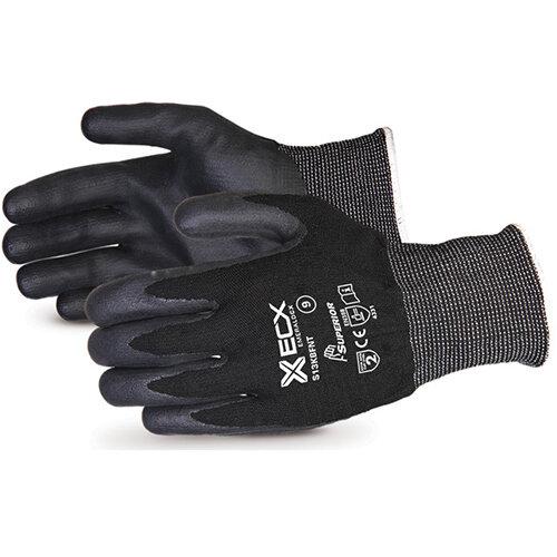 Superior Glove Emerald CX Nylon S/Steel Nitrile Palm 8 Black Ref SUS13KBFNT08