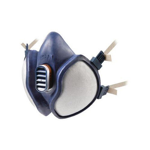 3M 4251 Respirator Half Mask Blue Single Ref 4251