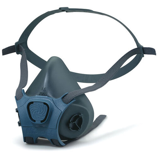 Moldex Mask Body Lightweight Medium Grey Ref M7002