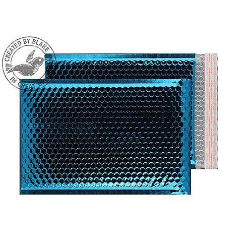 Purely Packaging Envelope P& C4+ 324x230mm Padded Met Blue Ref MBBLU324 [Pk 100]