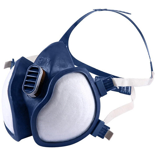 3M A2 P3 Organic Gas/Vapour and Particulate Respirator Blue Ref 4255