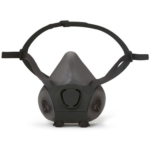 Moldex Silicone Half Mask Lightweight Medium Black Ref M7005