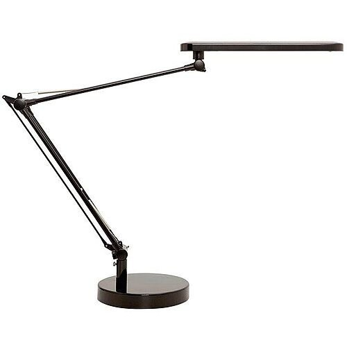 Unilux Mamboled LED Desk Lamp Double-Jointed Arm Black