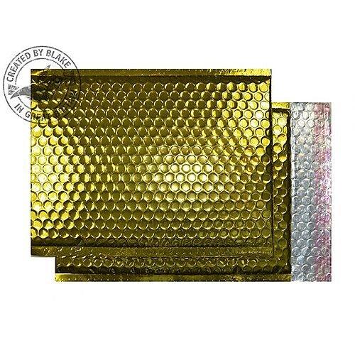 Purely Packaging Bubble Envelope P& C5+ Metallic Gold Ref MBGOL250 [Pk100]