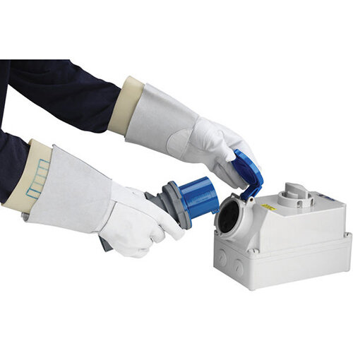 Polyco Electrician Glove Cover Size 10 White Ref EGC10