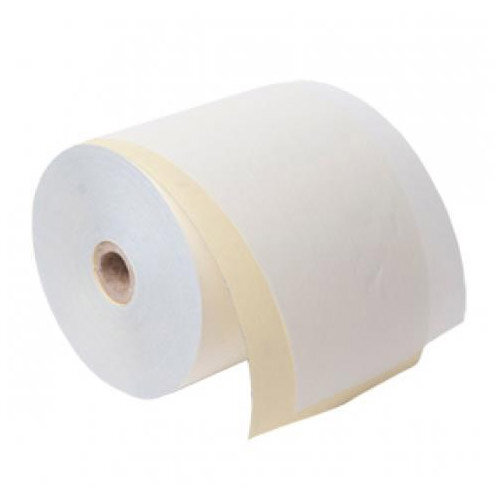 Carbonless Roll 2 Ply 76mm wide White/Pink