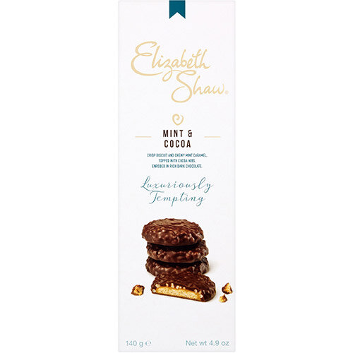 Elizabeth Shaw Mint &Cocoa Luxury Biscuits 140g Ref G1004