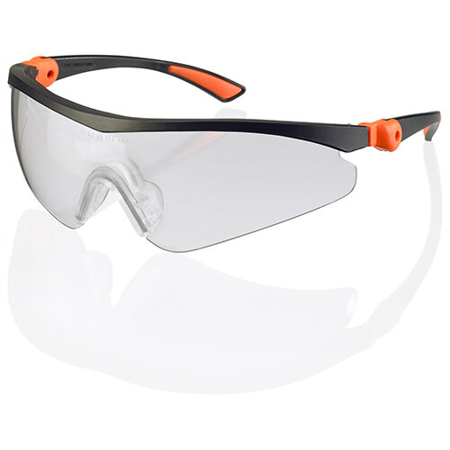 Click Traders Roma Safety Spectacles Clear Ref CTRS