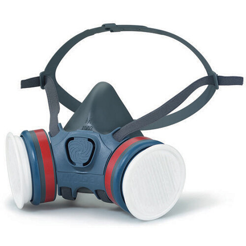 Moldex A1P2 Half Mask Lightweight Medium Grey Ref M7122