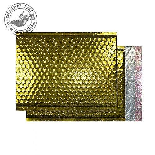 Purely Packaging Bubble Envelope P& C3 Metallic Gold Ref MBGOL450 [Pk 50]