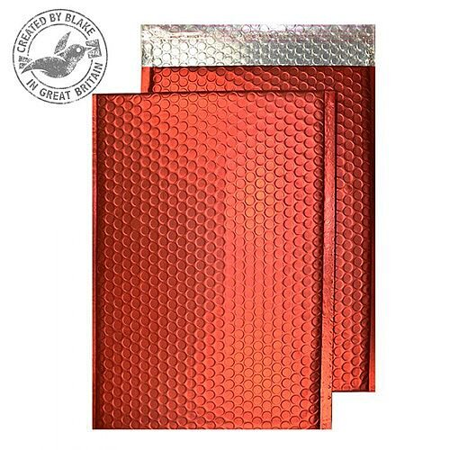 Purely Packaging Bubble Envelope P& C5+ Matt Metallic Chilli Ref MTR250 [Pk 100]