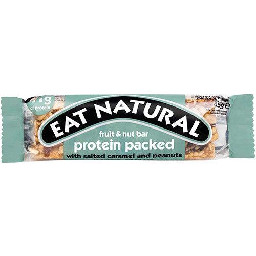 Eat Natural Fruit Nut Bar Salted Caramel &Peanuts 45g Ref PSC Pack of 12