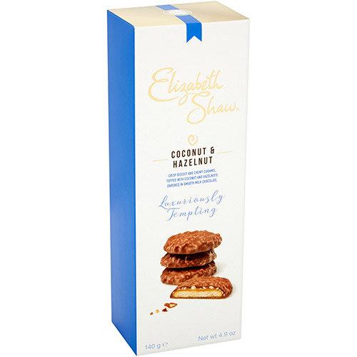 Elizabeth Shaw Coconut &Hazel Luxury Biscuits 140g Ref G1003