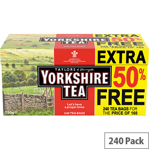 Yorkshire Tea Bags Ref 0403387 (Pack 240)