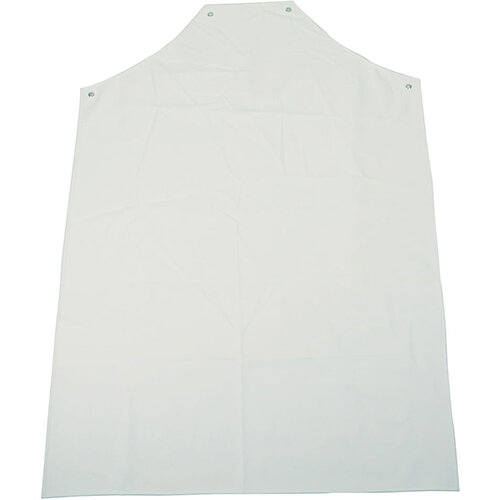 Click Workwear 36 inch PVC Apron White Pack of 10 Ref PAHWW48-10