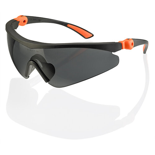 Click Traders Roma Safety Spectacles Grey Ref CTRSS3GY