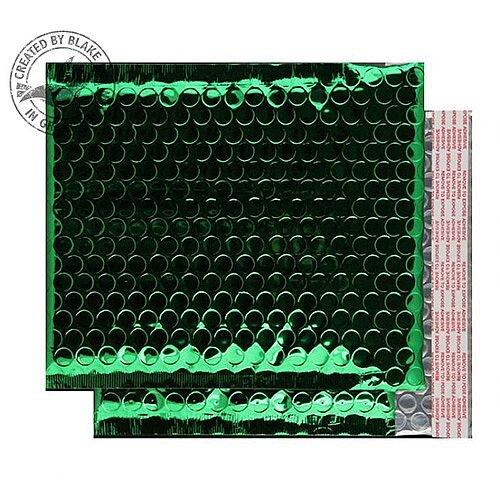 Purely Packaging Bubble Envelope P& CD Metallic Green Ref MBGRE250 [Pk100]