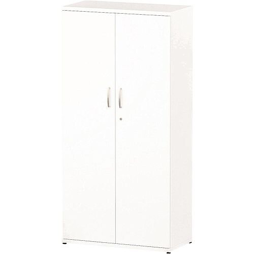 Tall Cupboard With 3 Shelves (4 Shelving Compartments) H1600xD400xW800mm White
