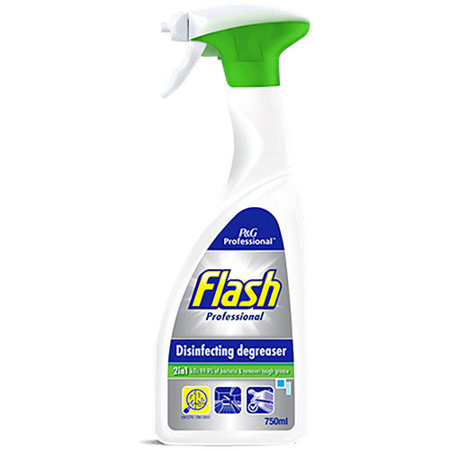 Flash Professional Disinfectant Degreaser Spray 750ml Ref C001849