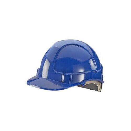 BBrand Wheel Ratchet Safety Helmet Blue Ref BBVSHRHB