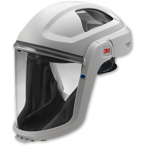 3M Versaflo M-106 Respiratory Faceshield with Coated Visor and Comfort Faceseal White Ref 3MM106