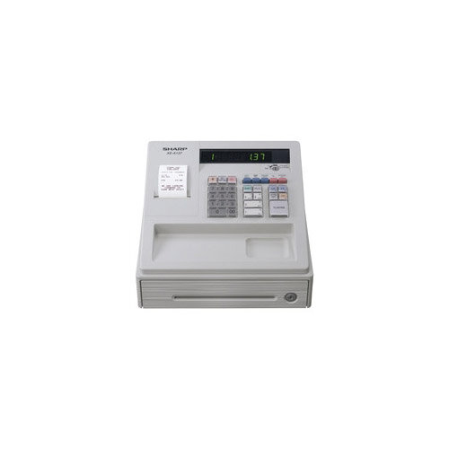 Sharp XE-A137 Cash Register Thermal Print 200PLUs 8-Departments Black
