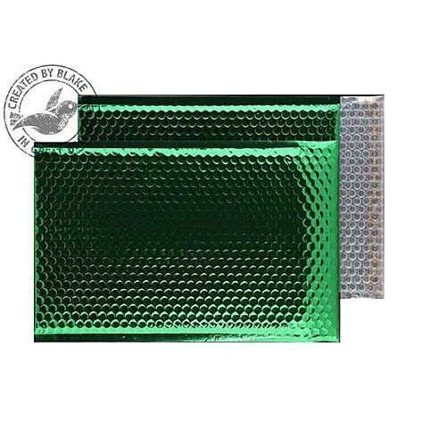 Purely Packaging Bubble Envelope P& C4 Metallic EmGreen Ref MBGRE324 [Pk 100]