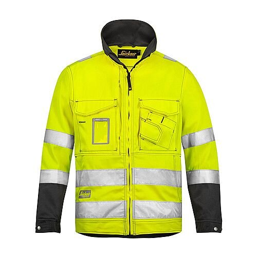 Snickers 1633 High-Vis Jacket Yellow Class 3