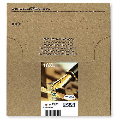 Epson No. 16XL Value Pack Cyan/Magenta/Yellow/Black Ref C13T16364510