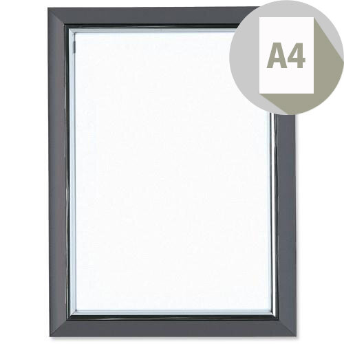 A4 Certificate Frame Smoke Coloured Frame Non-Glass Photo Album Company