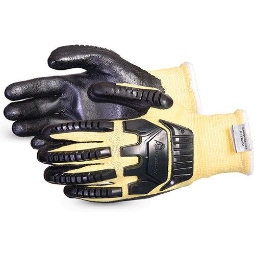 Superior Glove Dexterity Impact &Cut-Resist Kevlar XL Black Ref SUSKFGFNVBXL