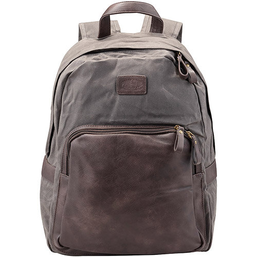 Pride and Soul Sensation 15inch Laptop Backpack Grey/Brown Ref 47301