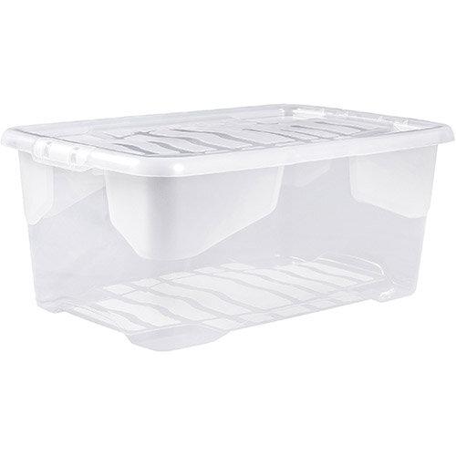 Strata Curve Box 42 Litre Clear Ref XW202B-CLR