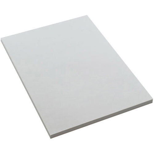 Memo Pads PEFC Accredited Plain 80 Leaf B A6 152x102mm White Ref ES6P Pack of 10