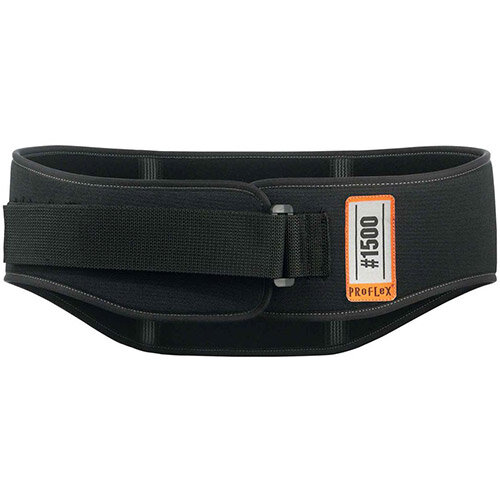 Ergodyne ProFlex 1500 Weight Lifters Style Medium Back Support Belt Black