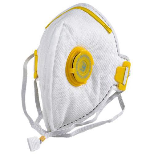 B-Brand Fold Flat P3 Mask Valve White Pack of 20 Ref BBFFP3V