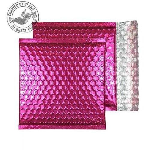 Purely Packaging Padded Envelope P& CD Metallic Pink Ref MBP165 [Pk 200]