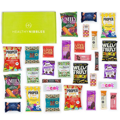 Healthy Nibbles 30 Piece Office Box Ref Health30