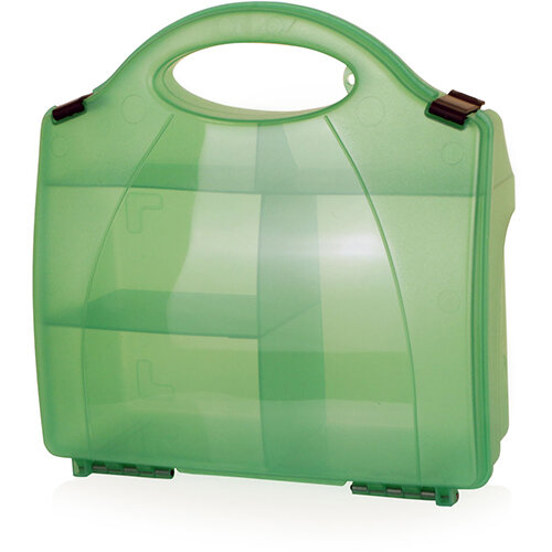 Click Medical Small Eclipse Box Green without Partitions Ref CM1018