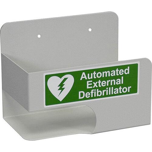 Click Medical AED Defibrillator Wall Bracket Grey Ref CM1210