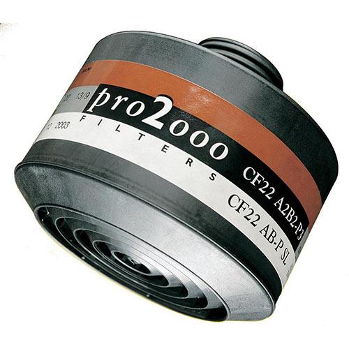 Scott Safety Pro 2000 CF22 A2B2-P3 Combination Filter 40mm Thread Grey Ref 5542674