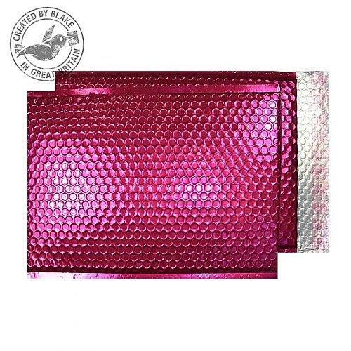 Purely Packaging Padded Envelope P& C5+ Metallic Pink Ref MBP250 [Pk 100]