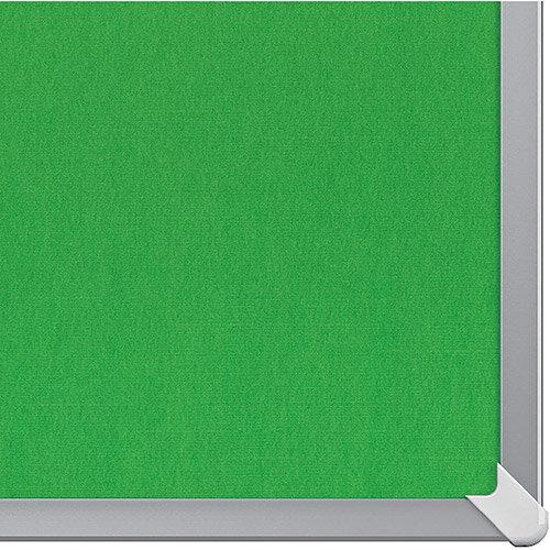 Nobo 85 inch Widescreen Felt Board 1880x1060mm Green Ref 1905317